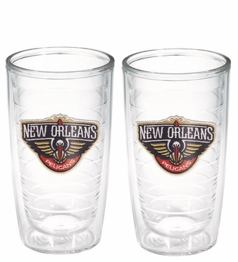 New Orleans Pelicans Set of TWO 16 oz. Tervis Tumblers