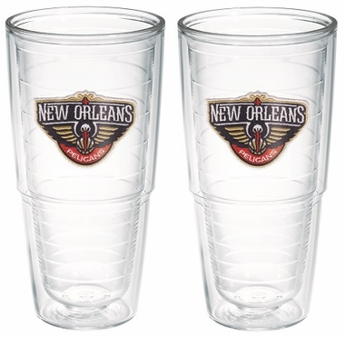 New Orleans Pelicans Set of TWO 24 oz. Tervis Tumblers