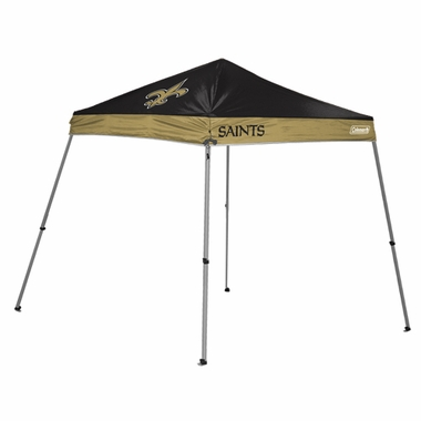 New Orleans Saints 10 x 10 Slant Leg Shelter
