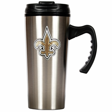 New Orleans Saints 16 oz. Thermo Travel Tumbler (Slim)