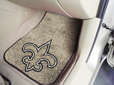 New Orleans Saints 2 Piece Car Mats
