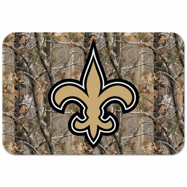 New Orleans Saints 20 x 30 Mat (Realtree)