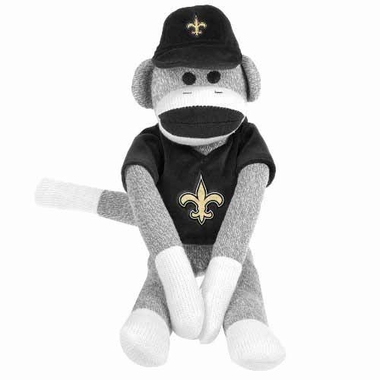 New Orleans Saints 2013 27 Uniform Sock Monkey
