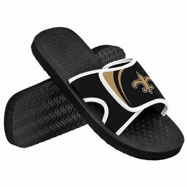 New Orleans Saints 2013 Shower Slide Flip Flop Sandals