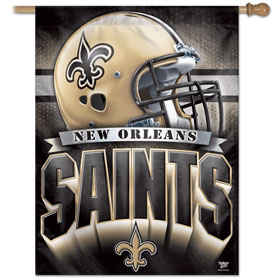 "New Orleans Saints 27"" x 37"" Banner"
