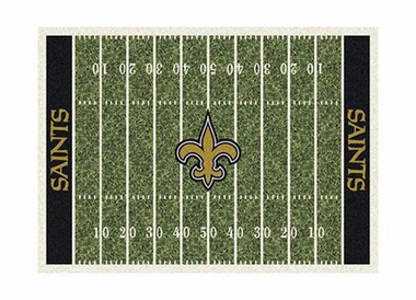 "New Orleans Saints 3'10"" x 5'4"" Premium Field Rug"