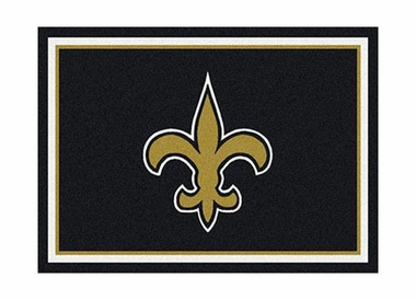 "New Orleans Saints 3'10"" x 5'4"" Premium Spirit Rug"