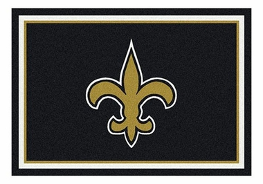 "New Orleans Saints 5'4"" x 7'8"" Premium Spirit Rug"