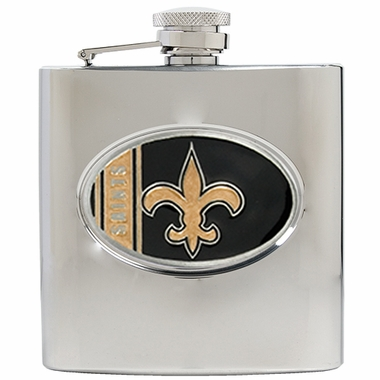 New Orleans Saints 6 oz. Hip Flask