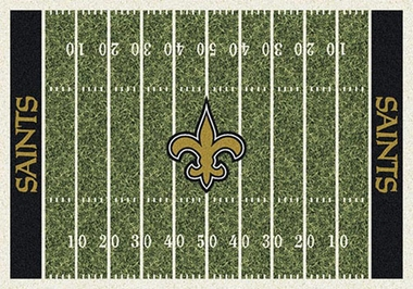 "New Orleans Saints 7'8"" x 10'9"" Premium Field Rug"