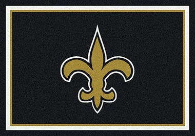 "New Orleans Saints 7'8"" x 10'9"" Premium Spirit Rug"