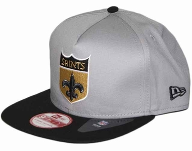 New Orleans Saints 9FIFTY Throwback A-Tone Snapback Hat