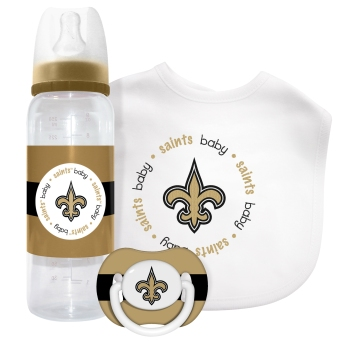 New Orleans Saints Baby Gift Set