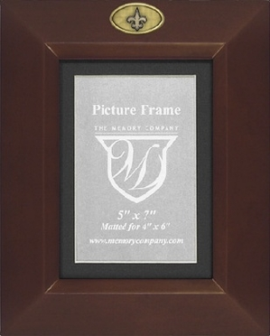 New Orleans Saints BROWN Portrait Picture Frame