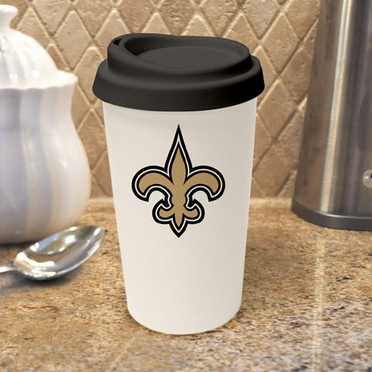 New Orleans Saints Ceramic Travel Cup