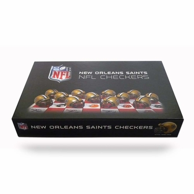 New Orleans Saints Checkers Set