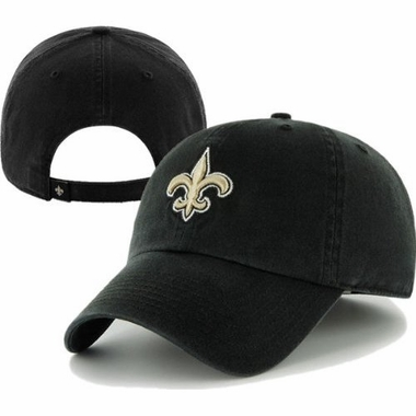 New Orleans Saints Cleanup Adjustable Hat