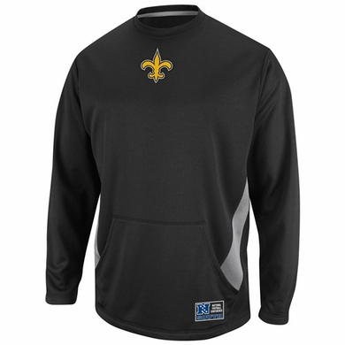 New Orleans Saints Coverage Sack II Crew Sweatshirt