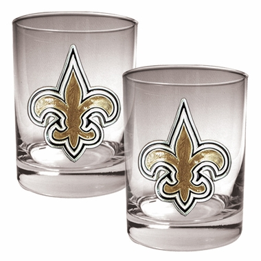 New Orleans Saints Double Rocks Set