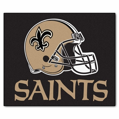 New Orleans Saints Economy 5 Foot x 6 Foot Mat