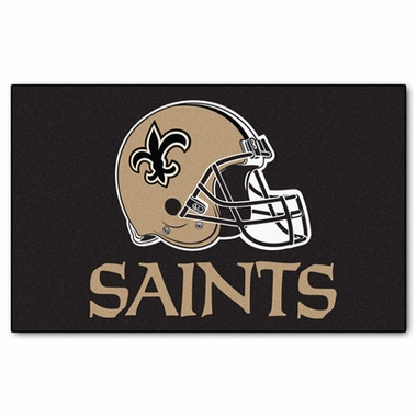 New Orleans Saints Economy 5 Foot x 8 Foot Mat