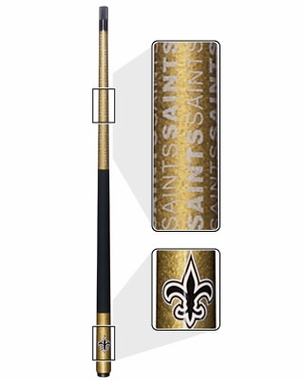 New Orleans Saints Eliminator Pool Cue