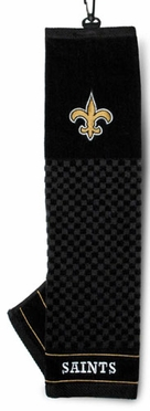 New Orleans Saints Embroidered Golf Towel