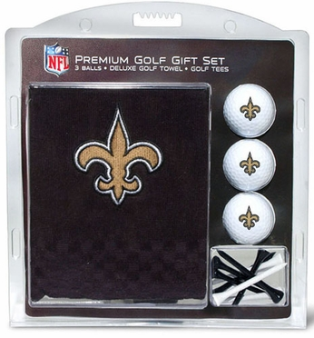 New Orleans Saints Embroidered Towel Gift Set