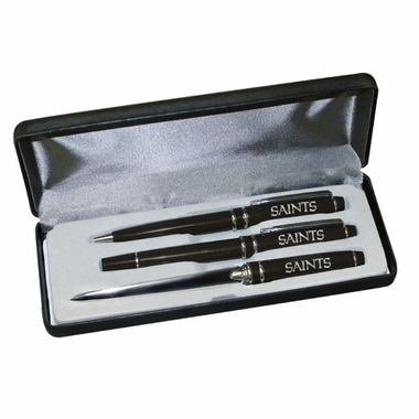 New Orleans Saints Engraved Pen Set