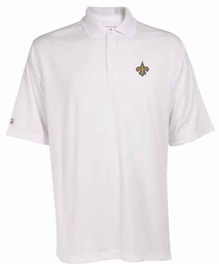 New Orleans Saints Mens Exceed Polo (Color: White)