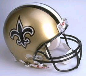 New Orleans Saints Full Sized Replica Helmet