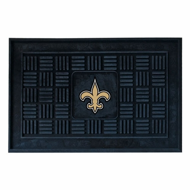 New Orleans Saints Heavy Duty Vinyl Doormat
