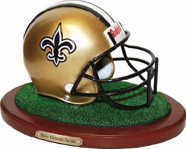 New Orleans Saints Helmet Figurine