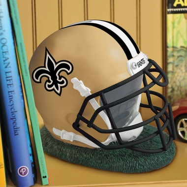 New Orleans Saints Helmet Shaped Bank