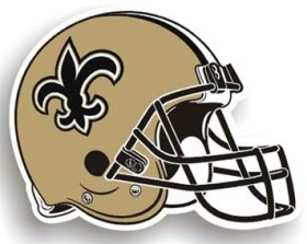 New Orleans Saints Individual Car Magnet