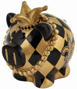 New Orleans Saints Large Thematic Piggy Bank