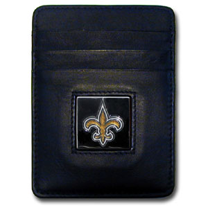 New Orleans Saints Leather Money Clip (F)