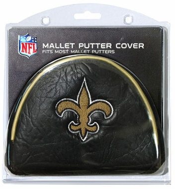 New Orleans Saints Mallet Putter Cover