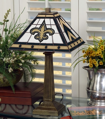 New Orleans Saints Mission Lamp