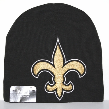 New Orleans Saints New Era Big One Too Cuffless Knit Hat