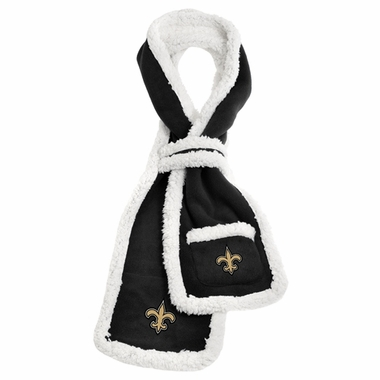 New Orleans Saints NFL Team Sherpa Scarf