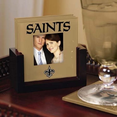 New Orleans Saints Photo Coaster Set