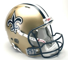 New Orleans Saints Revolution Pro Line Helmet