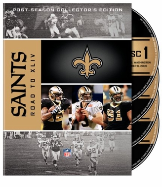 New Orleans Saints Road to Super Bowl XLIV DVD