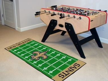 New Orleans Saints Runner Rug