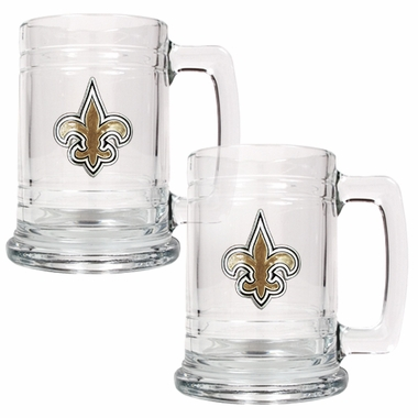 New Orleans Saints Set of 2 15 oz. Tankards