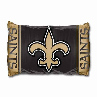 New Orleans Saints Set of 2 Pillow Cases (Team Color)