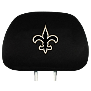 New Orleans Saints Set of Headrest Covers