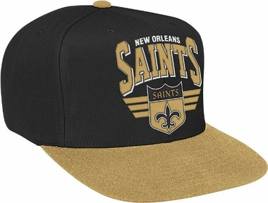 New Orleans Saints Stadium Throwback Snapback Hat