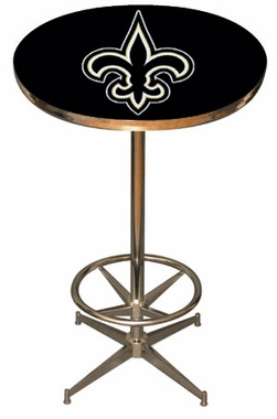 New Orleans Saints Team Pub Table